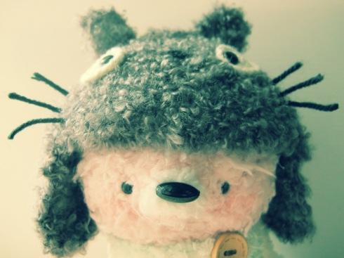 amigurumei pink fox crochet