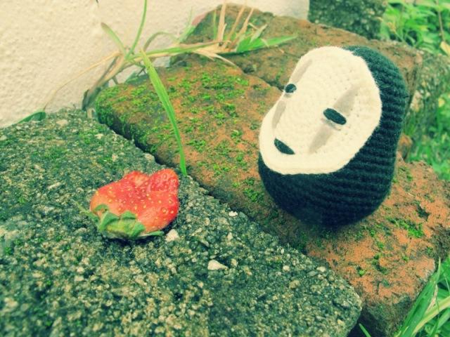 spirited away no face crochet amigurumei