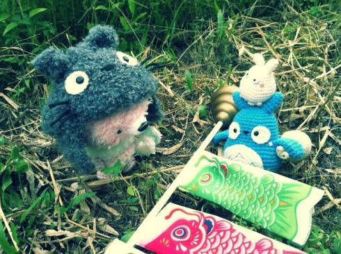 mei-chan totoro amigurumei crochet ghibli