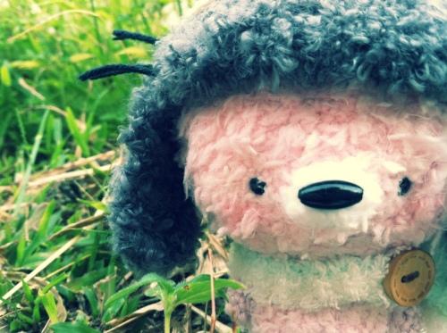 fox amigurumei crochet totoro ghibli pink