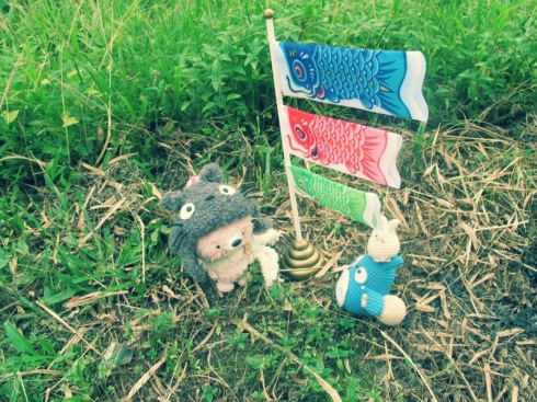 fox amigurumei crochet totoro ghibli