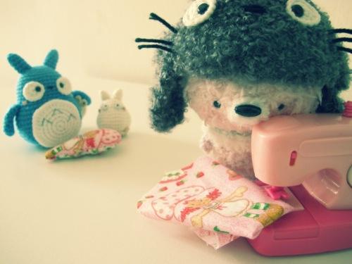 fuzzy crochet amigurumei ghibli