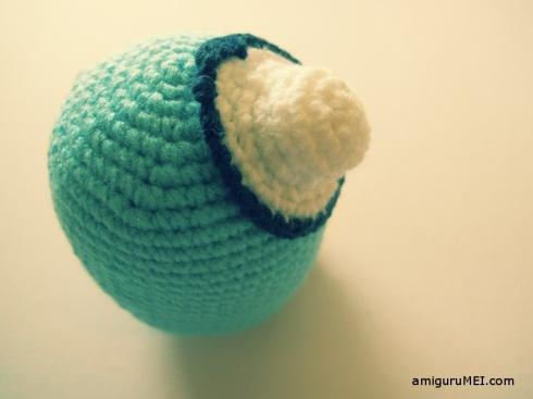 penguin blue crochet amigurumei sanrio