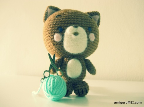 cat amigurumei crochet