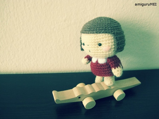 crochet amigurumei japanese child