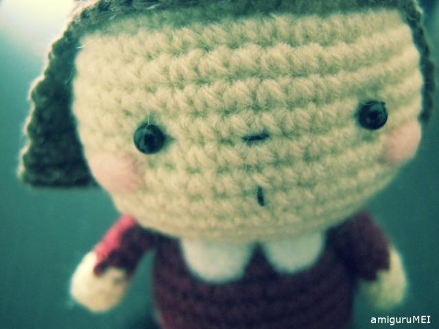 amigurumei crochet child