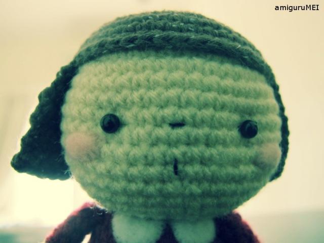 crochet amigurumei child