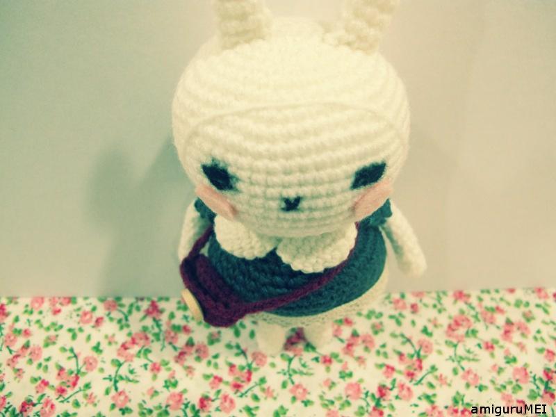 Tuto Lapin Crochet - Made By Amy | Kaninchen häkeln, Tier häkeln kostenlos  und Osterhasen häkeln | 600x800