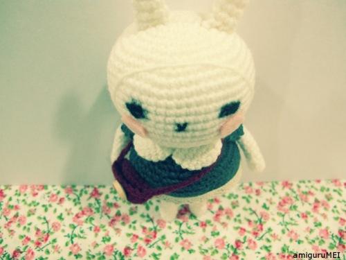 bunny amigurumei crochet
