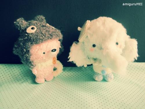 amigurumei crochet ghibli fox