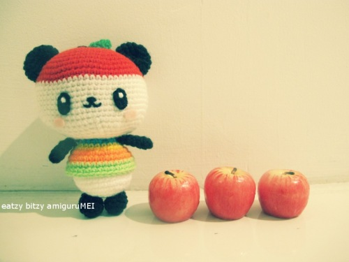 crochet cute kawaii apple