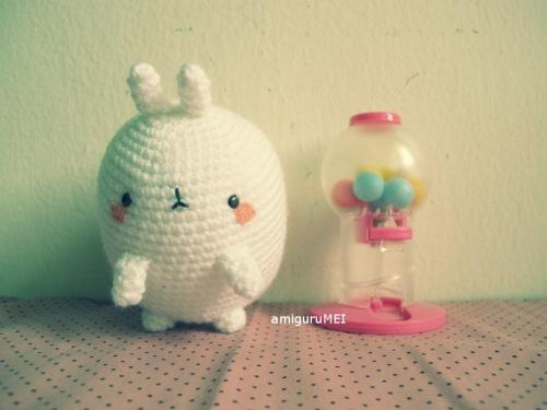 crochet bunny fat