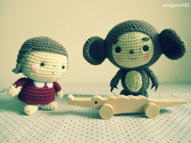 crochet russian cartoon character
