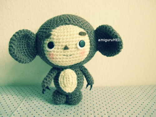 crochet cartoon character