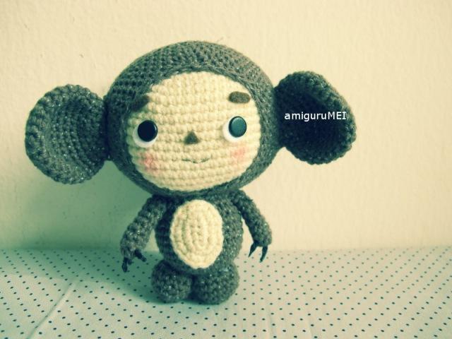 crochet cartoon character