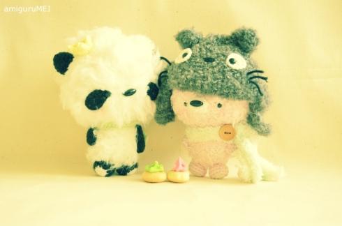 amigurumei crochet ghibli fuzzy