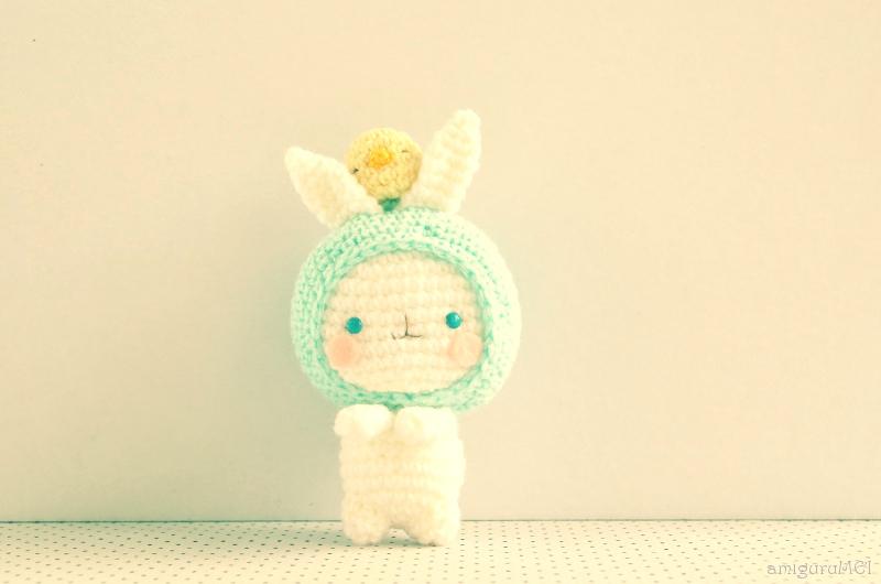 Baby Security Blanket Bunny Crochet Pattern - Crochet News | 530x800