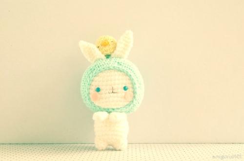 amigurumei bunny crochet
