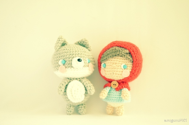 amigurumei crochet wolf
