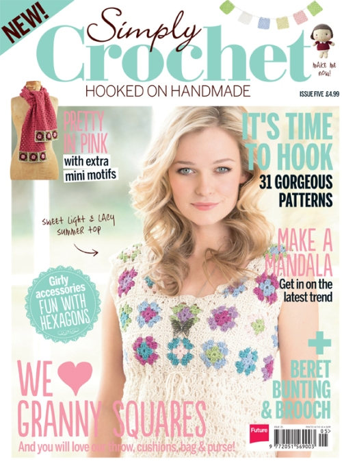 simply crochet magazine chiyo chan