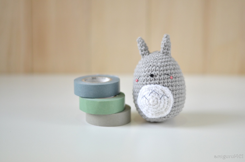 Amigurumi Totoro : Free sleeping totoro amigurumi pattern amigurumei あみぐるメイ