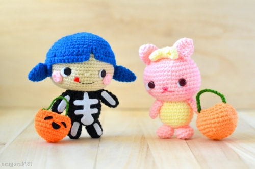 halloween crochet cute amigurumei