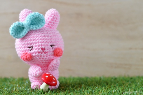 Pinky The Rabbit Amigurumi Crochet Pattern : New Easter bunny amigurumi pattern: Ichigo-chan ...