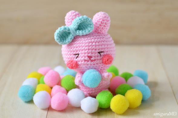 Amigurumi Spring Bunny : New Easter bunny amigurumi pattern: Ichigo-chan ...