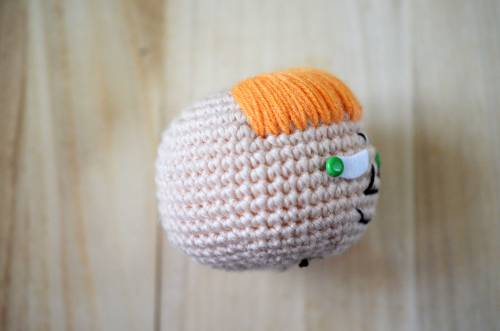 Little My from The Moomins. Free amigurumi pattern!
