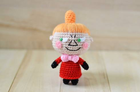 Little My from The Moomins free amigurumi pattern