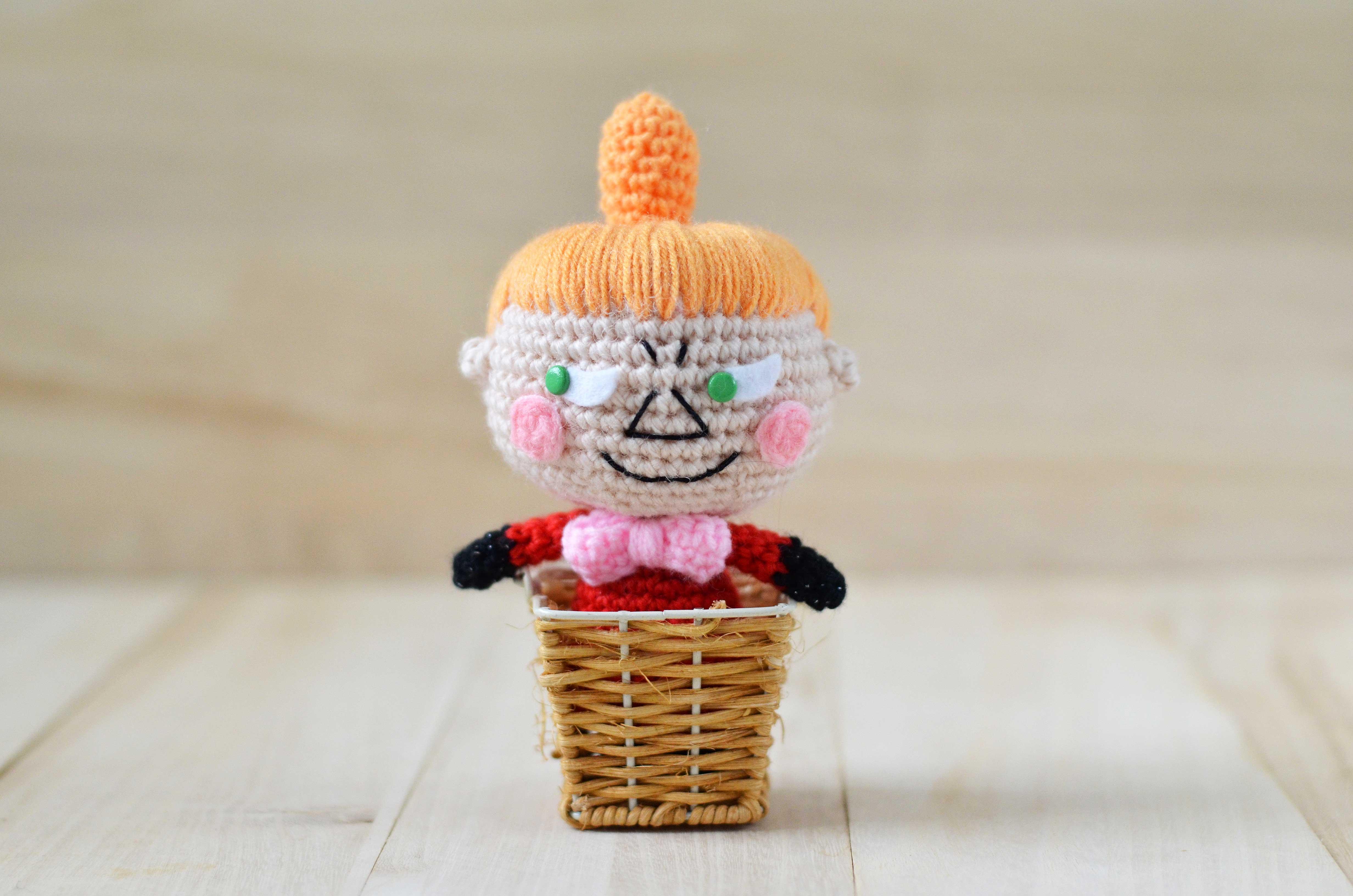 Little My from The Moomins free amigurumi pattern | amiguruMEI あみ ...