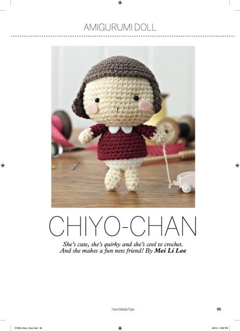 amigurumei's Chiyo-chan pattaern in Hand Made Toys