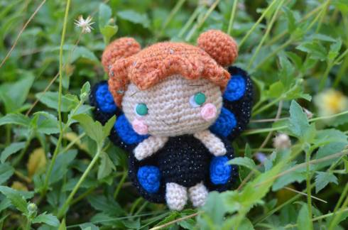 amigurumei butterly girl