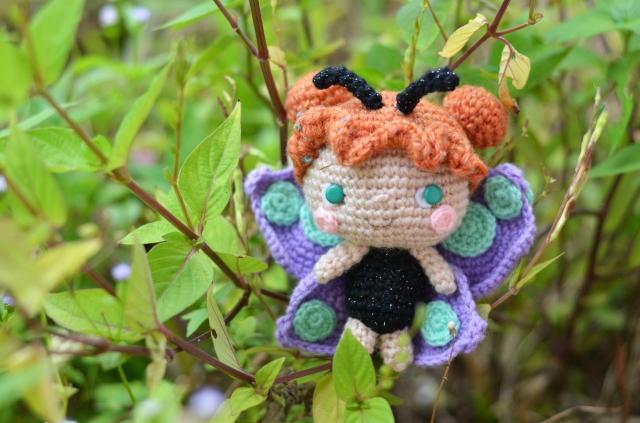 amigurumei butterfly girl in Simply Crochet