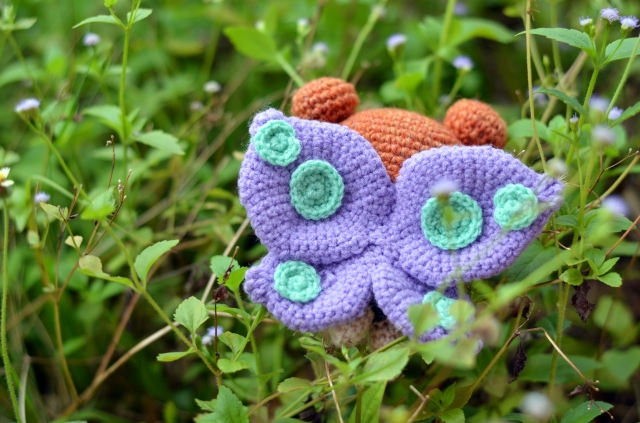 amigurumei butterfly girl amigurumi in Simply Crochet