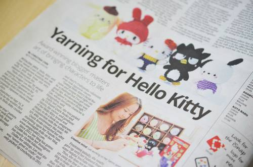 amigurumei hello kitty crochet in the news