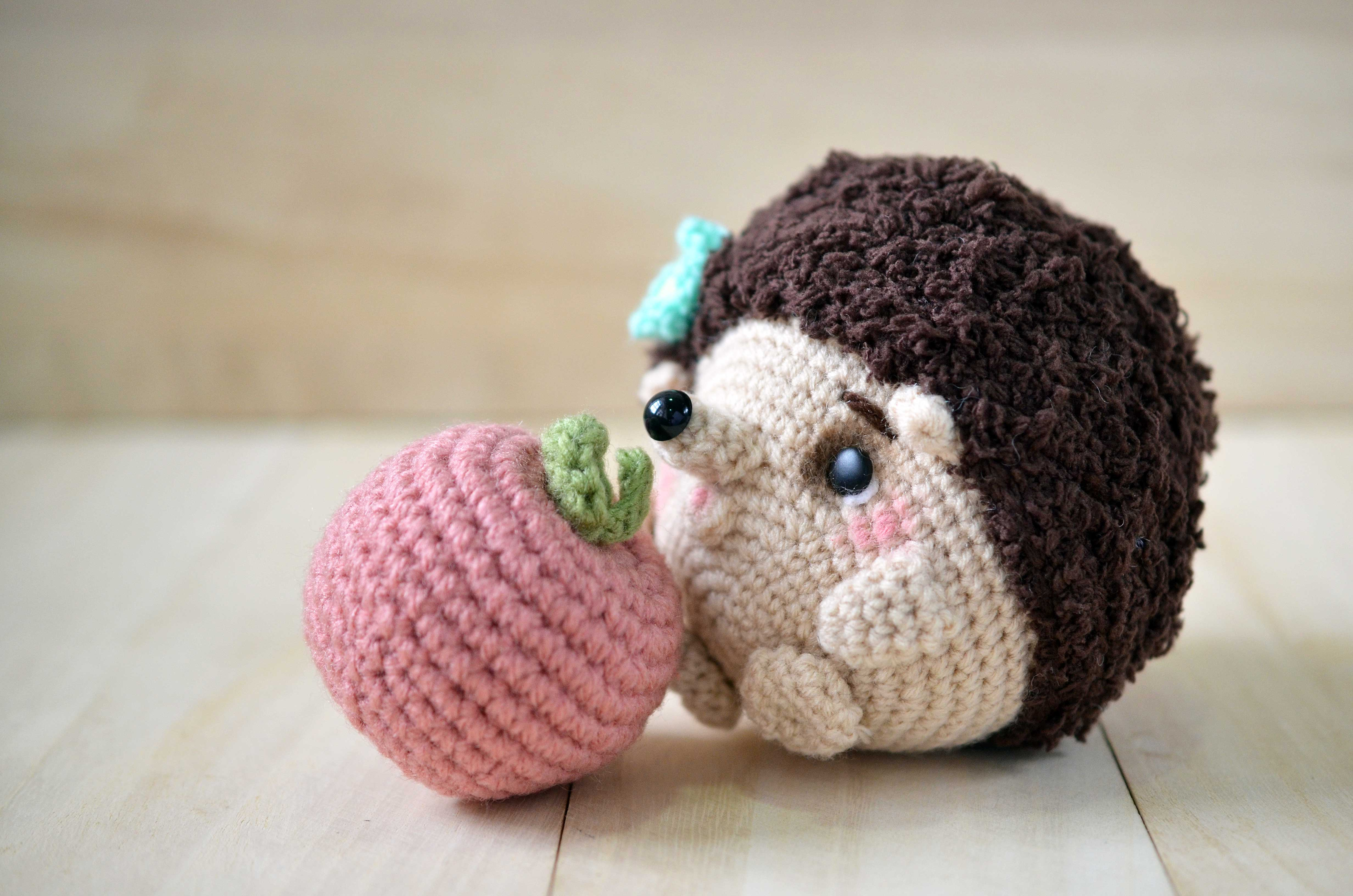 New amigurumi pattern: Mimi-chan the hedgehog amiguruMEI ...