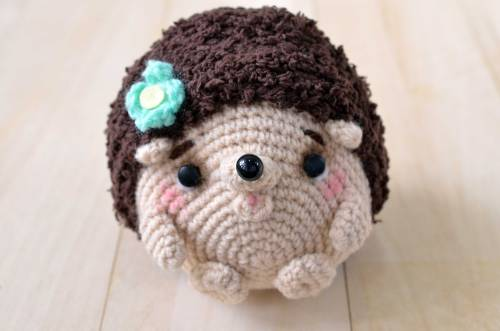 Hedgehog amigurumi