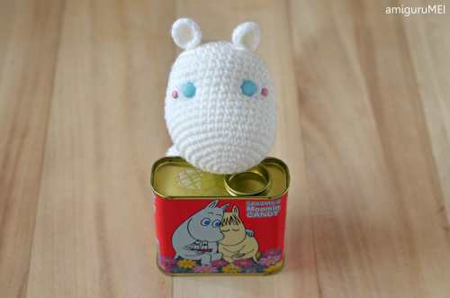 Moomin amigurumi by amiguruMEI