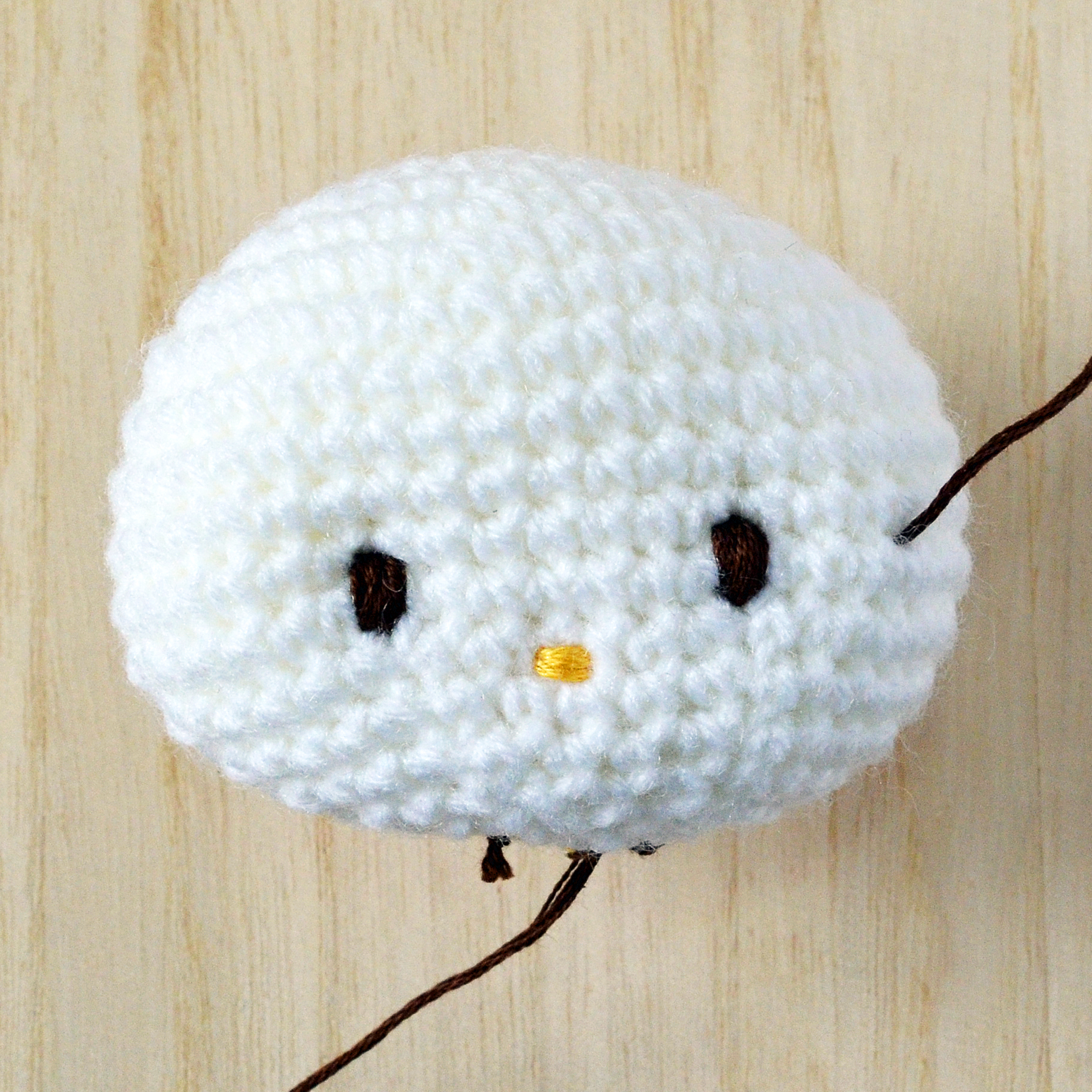 Faces for Amigurumi Part 1: Using Safety Eyes And Simple ... | 2450x2450