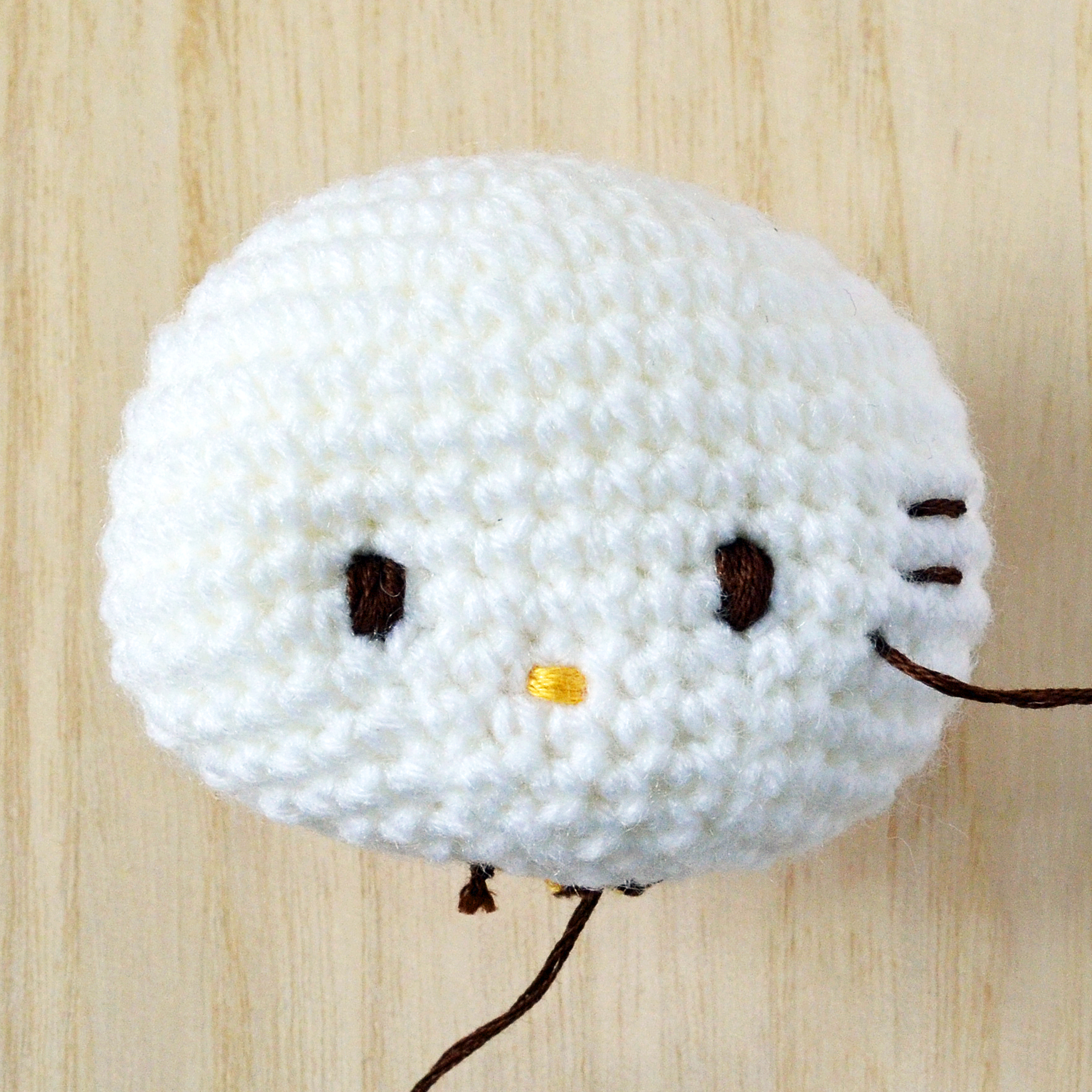 Amigurumi Eyes Michaels : Exclusive Hello Kitty Crochet Tip#2: It s in the eyes ...