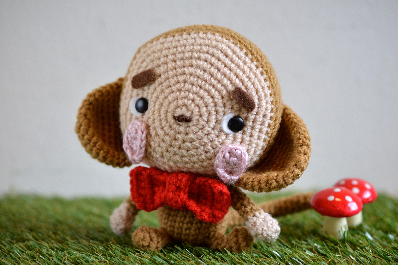 Ravelry: Happy the Monkey pattern by Hwei Yin Lee | 3120x4680
