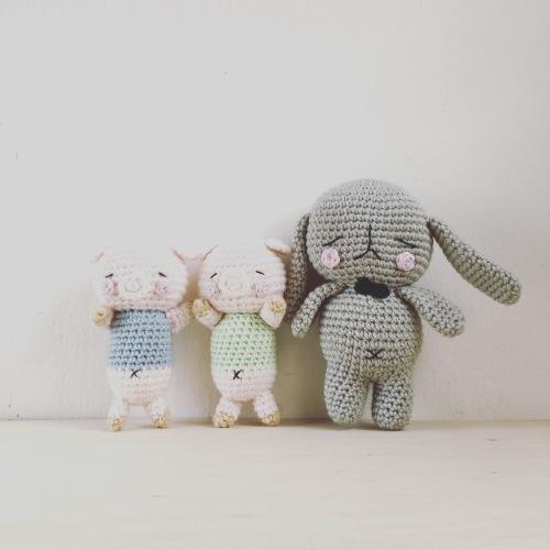 RIsa-chan amigurumi pattern