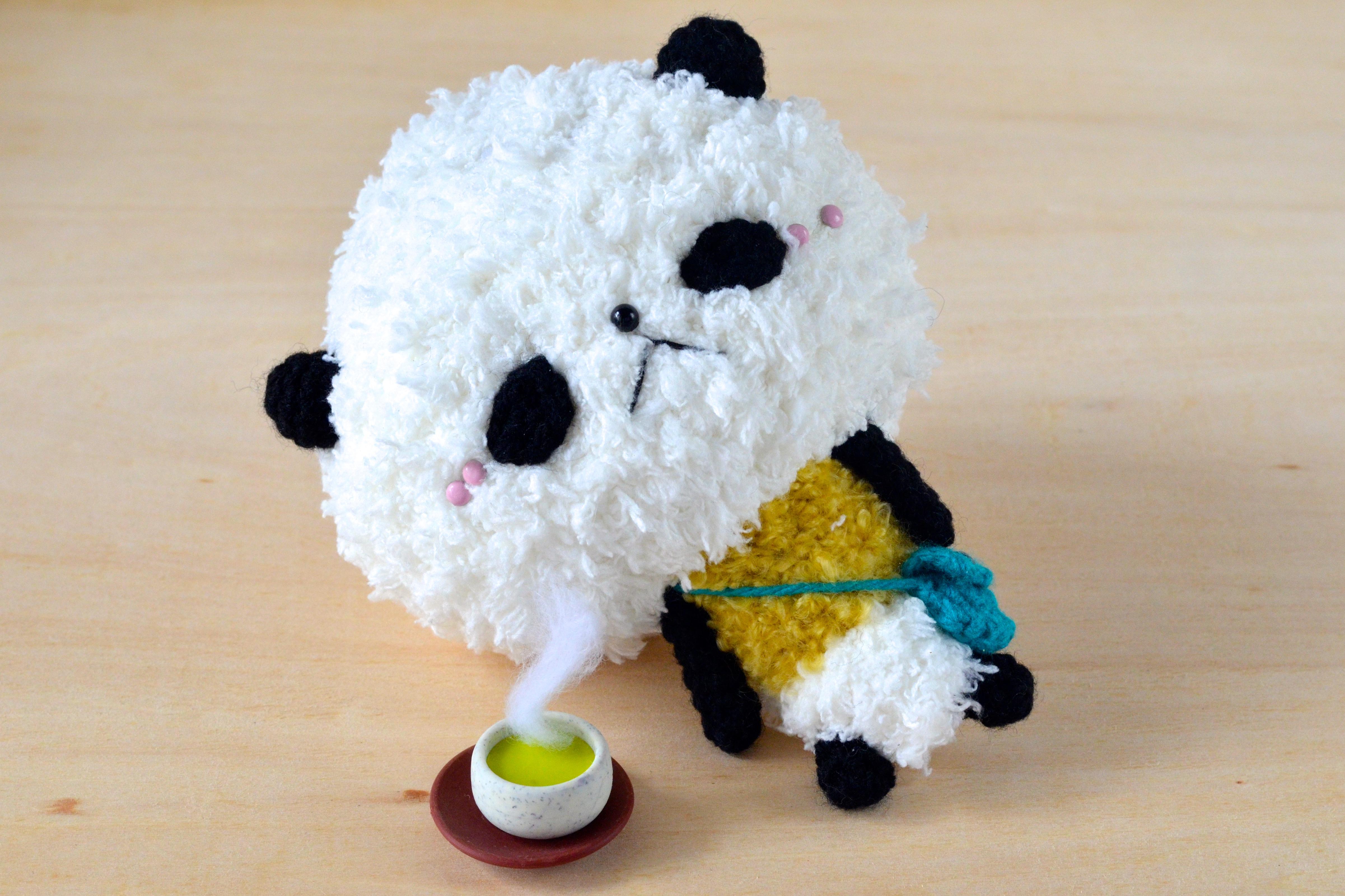 Amigurumi Pattern Panda : Free Pan-san the Panda amigurumi pattern amiguruMEI ??????