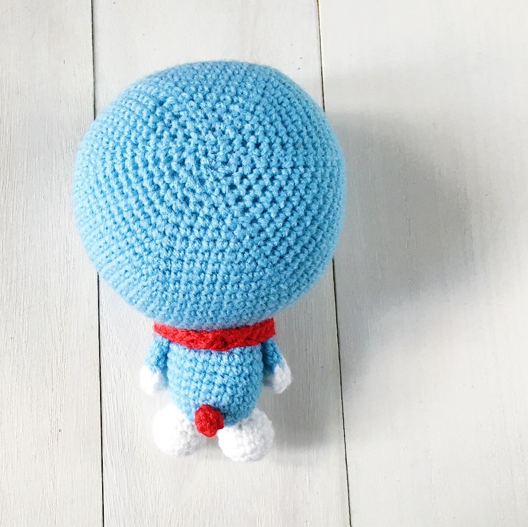 Free amigurumi pattern: Doraemon | amiguruMEI あみぐるメイ