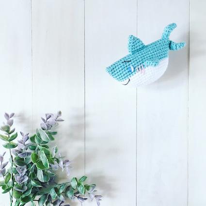 10 Shark Crochet Patterns (Free) + Nautical Design Ideas ... | 425x425