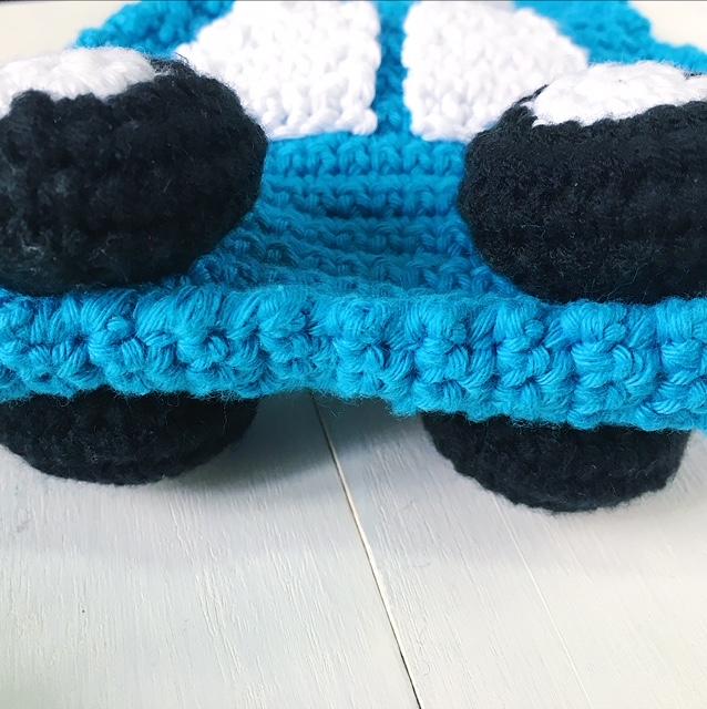 Free Crochet Car Bag Pattern For Toddlers Amigurumei