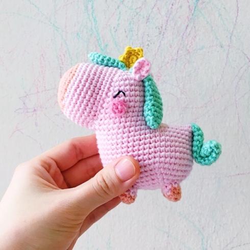 unicorn free pattern crochet
