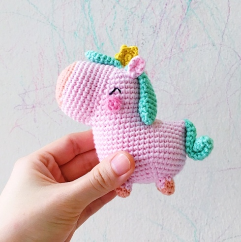 unicorn free pattern crochet