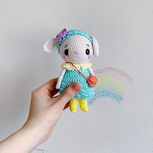 lily the lamb by amigurumei